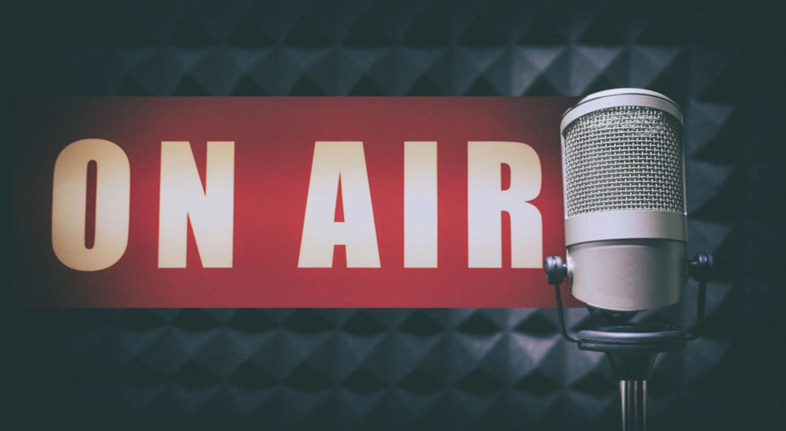 ラジオ始めました。毎週金曜日の夜に配信します!